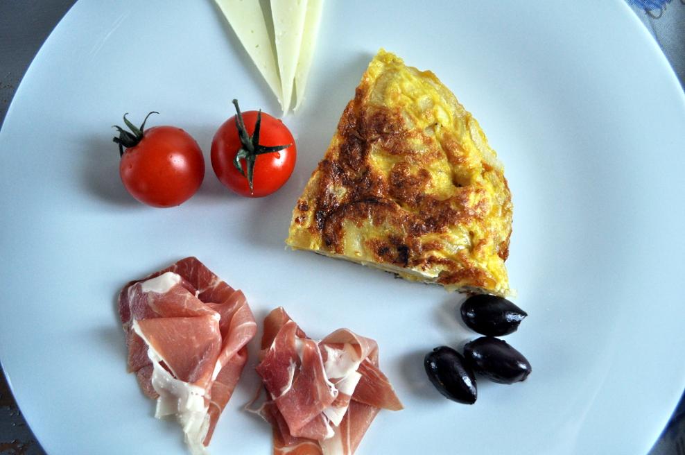 Tortilla - en spansk omelett