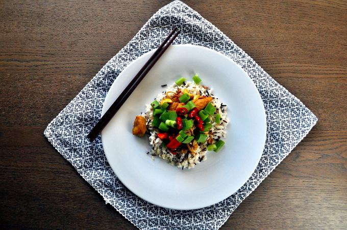 Kylling med sitrongress fra ukemeny med smakfulle middager