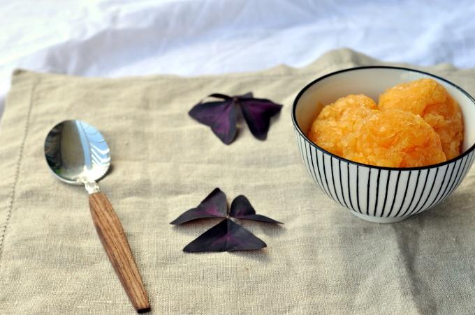Appelsinsorbet