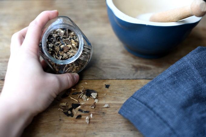 Traktkantareller som krydder