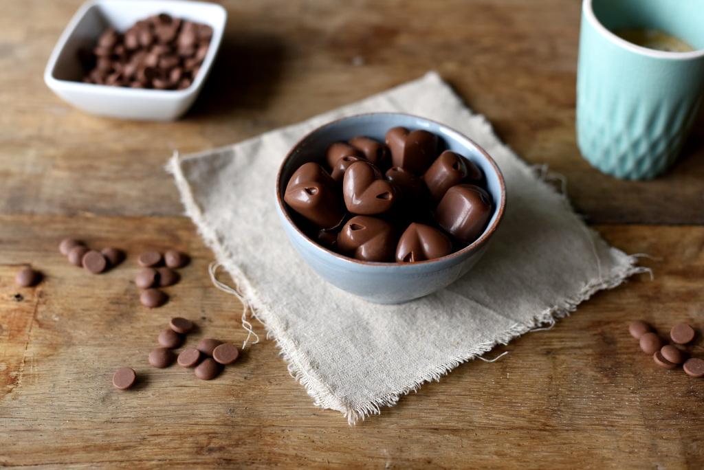 Sjokoladekonfekt med gløggfyll