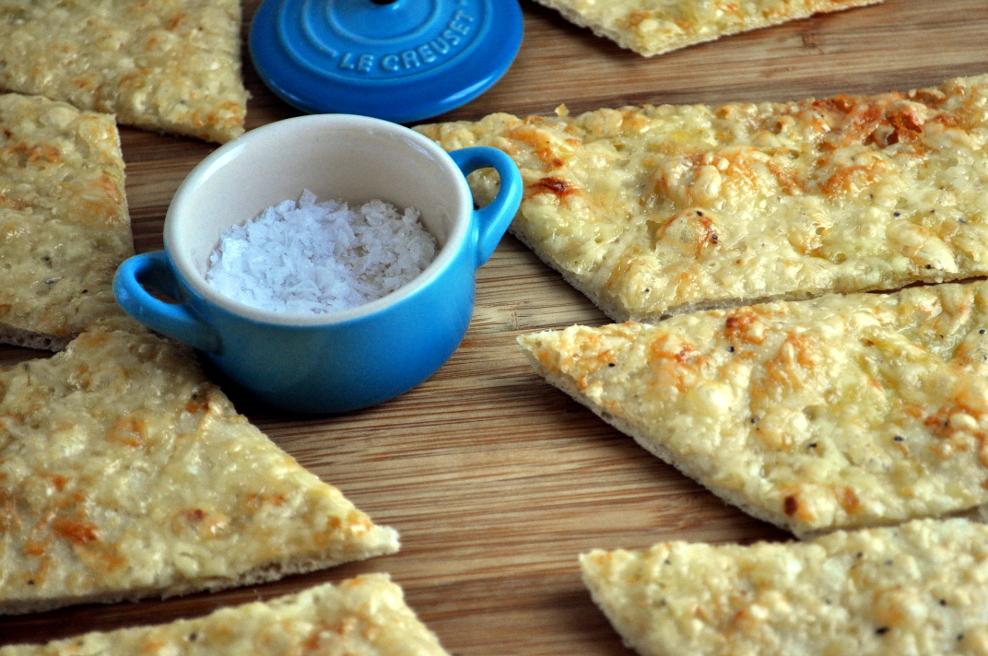 Hvitløksbrød med parmesan