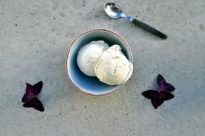 Enkel vaniljeis