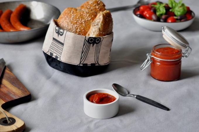 Hjemmelaget tomatketchup