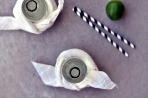 Lime- og ingefærsoda