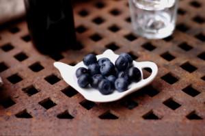 Hjemmelaget blåbærsaft