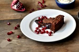 Mormors oppskrift på rå sjokoladekake