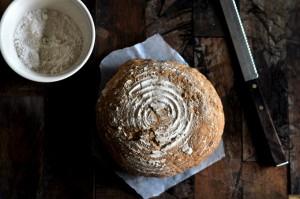 Brød i hevekurv