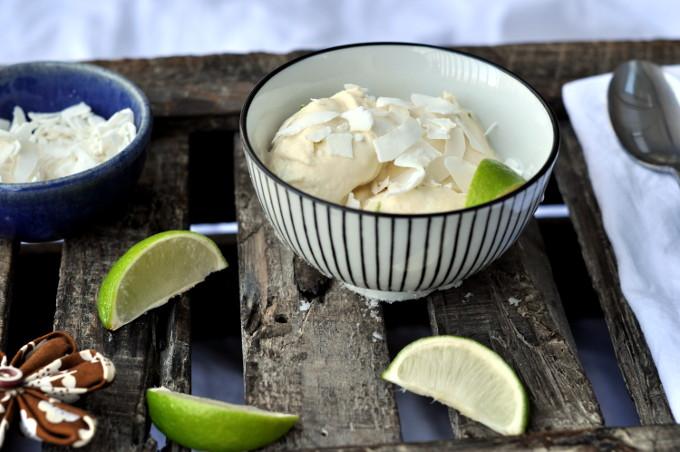 Enkel kokosis med lime