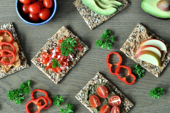 Hjemmelaget vegetarisk pålegg