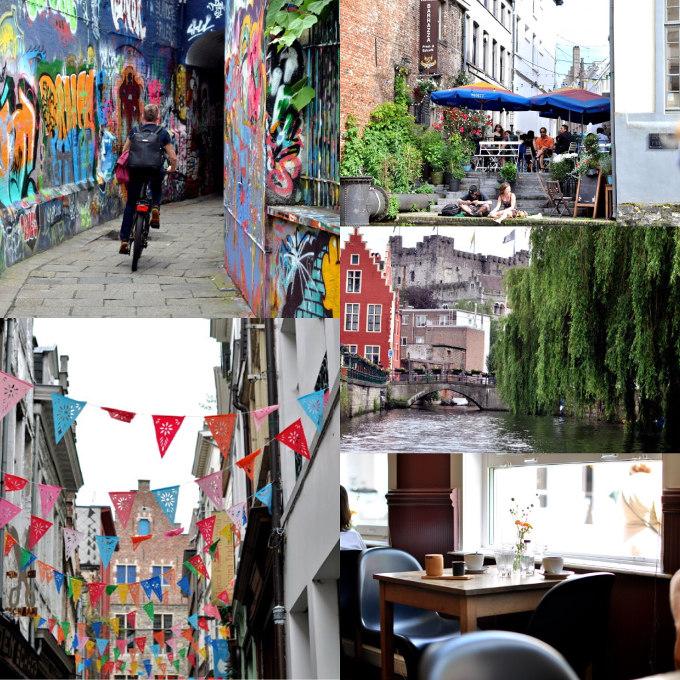 Flanderen og bytur i Ghent