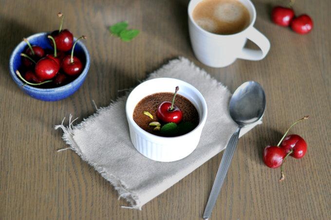 Pots de crème med sjokolade