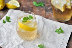 Sitron- og ingefærpunsj