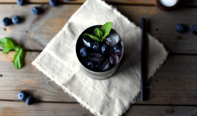 Blåbærmojito