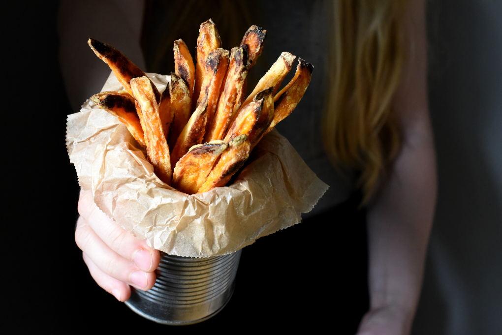 Sprø søtpotetfries i ovnen – kjemi, tips og triks