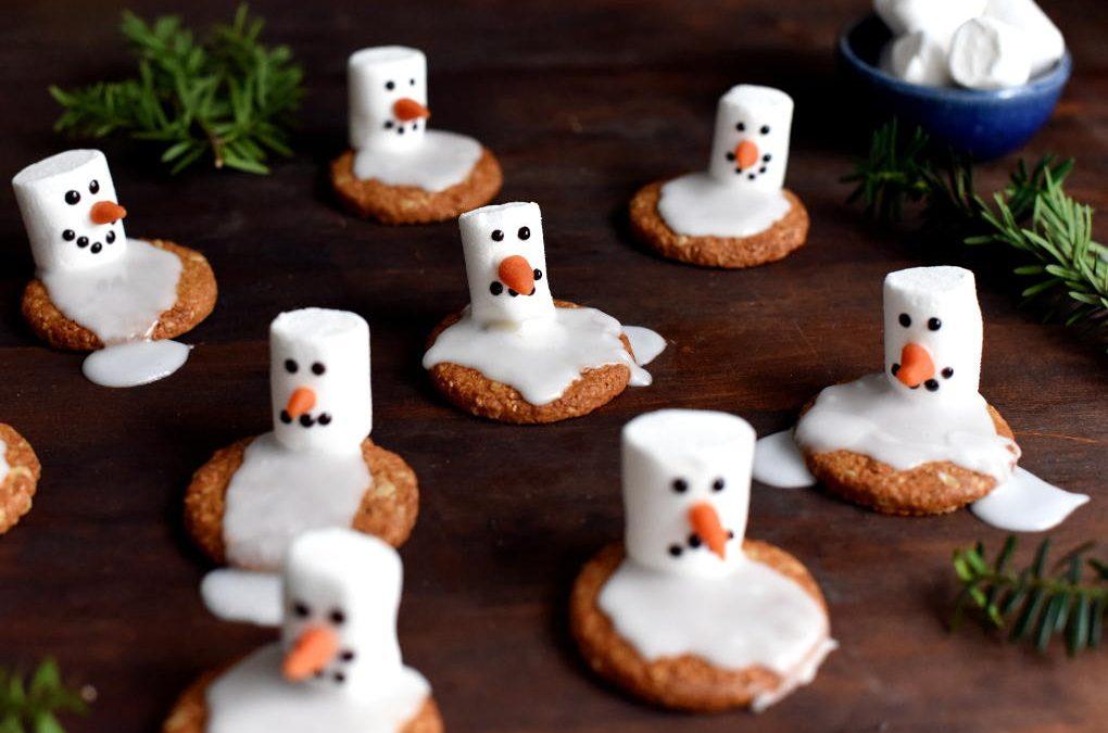 Snømanncookies