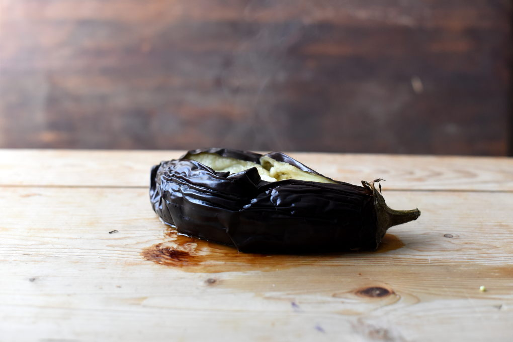 Kremet auberginedipp