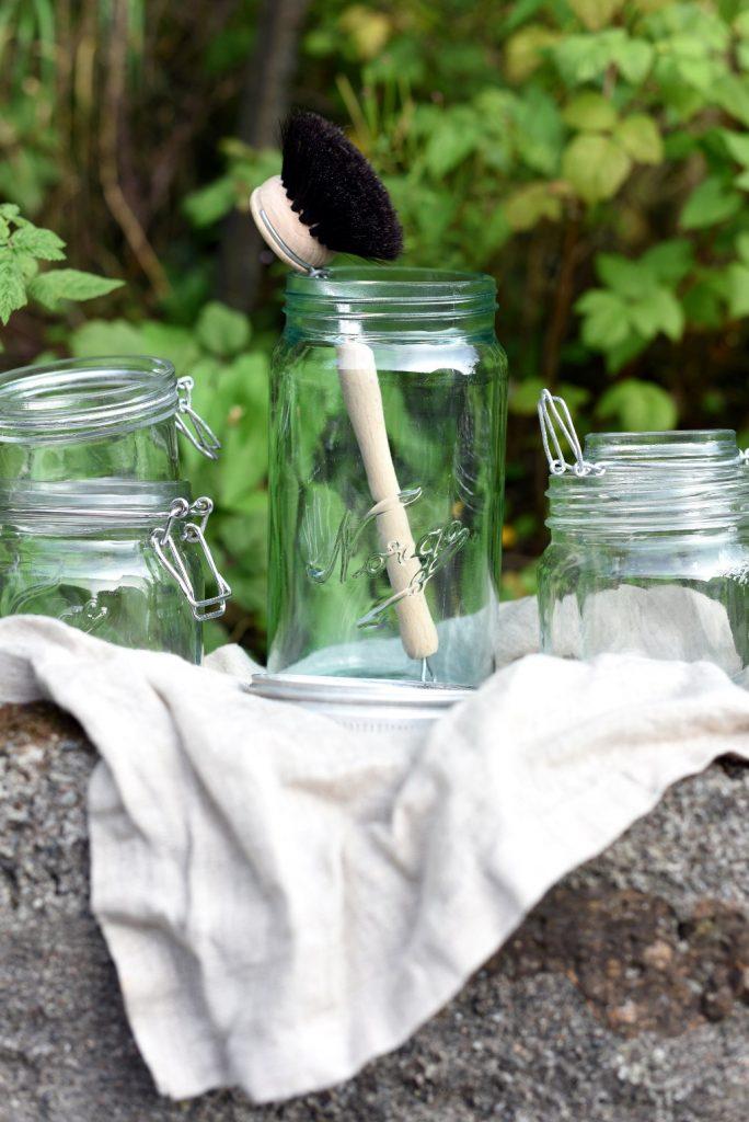 Rengjøring og sterilisering av glass og behodere